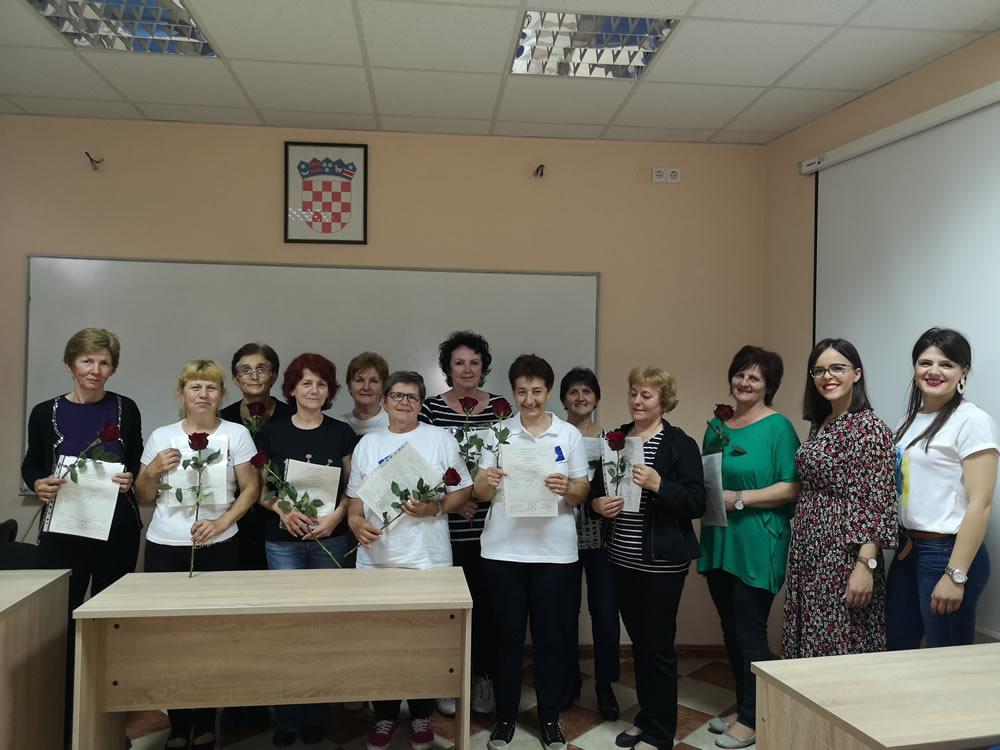 Radnice Programa Zaželi završile osposobljavanje za gerontodomaćicu